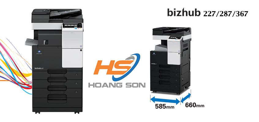 Máy photocopy Bizhub 226 full option