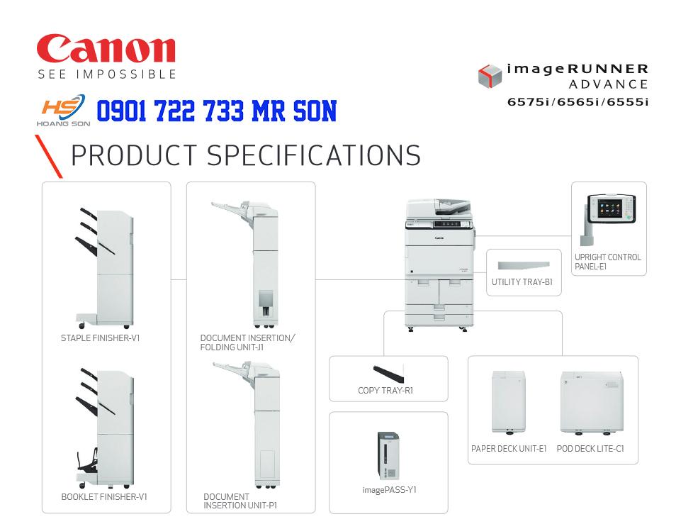 Cleaner Máy Photocopy ADVANCE 6565i