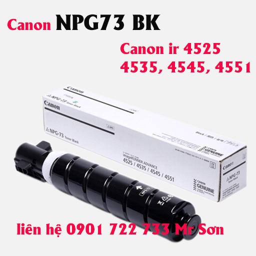 Hộp Mực Máy Photocopy Canon Ir4551 - Canon NPG73 BK