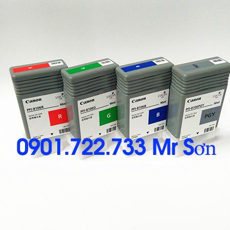 Mực PFI-8106 (MBK/BK/C/M/Y)