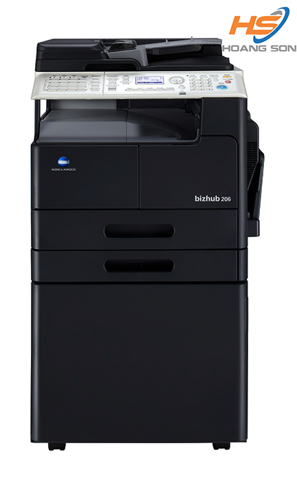 Máy photocopy Bizhub 206 + DF625 + AD509 + PF507