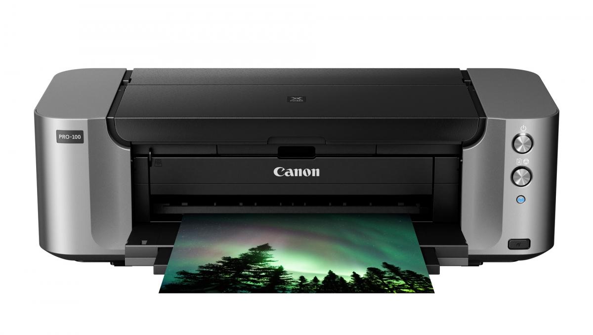 Máy in phun màu Canon Pixma Pro 100